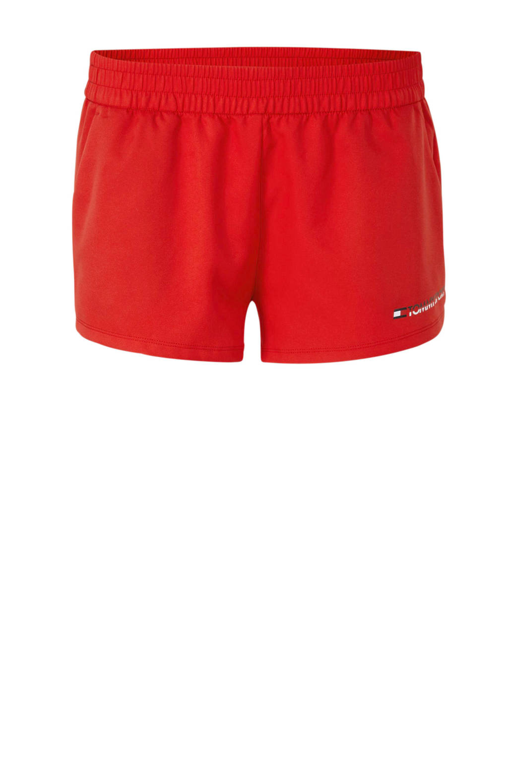 Tommy Hilfiger Sport sportshort rood, Rood