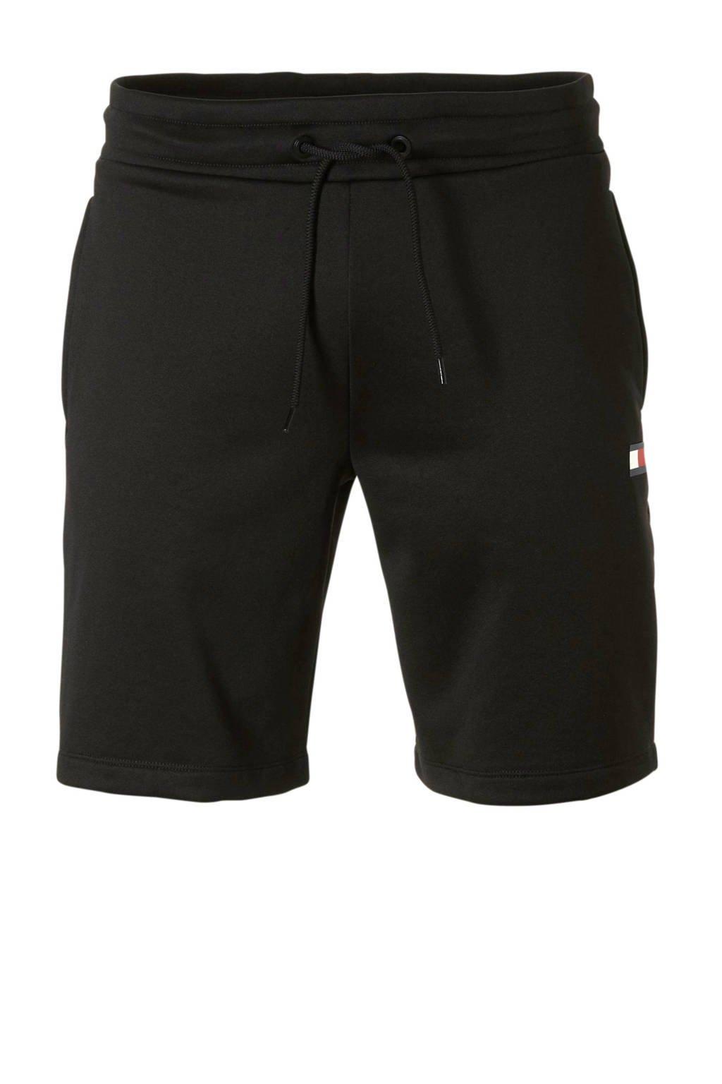 Tommy Sport   sportshort zwart, Zwart