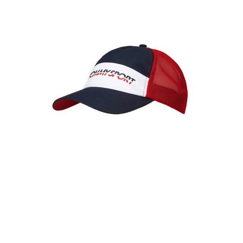Tommy Hilfiger Sport cap blauw/wit/rood