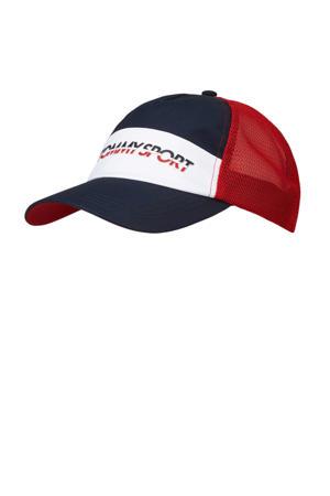 cap blauw/wit/rood