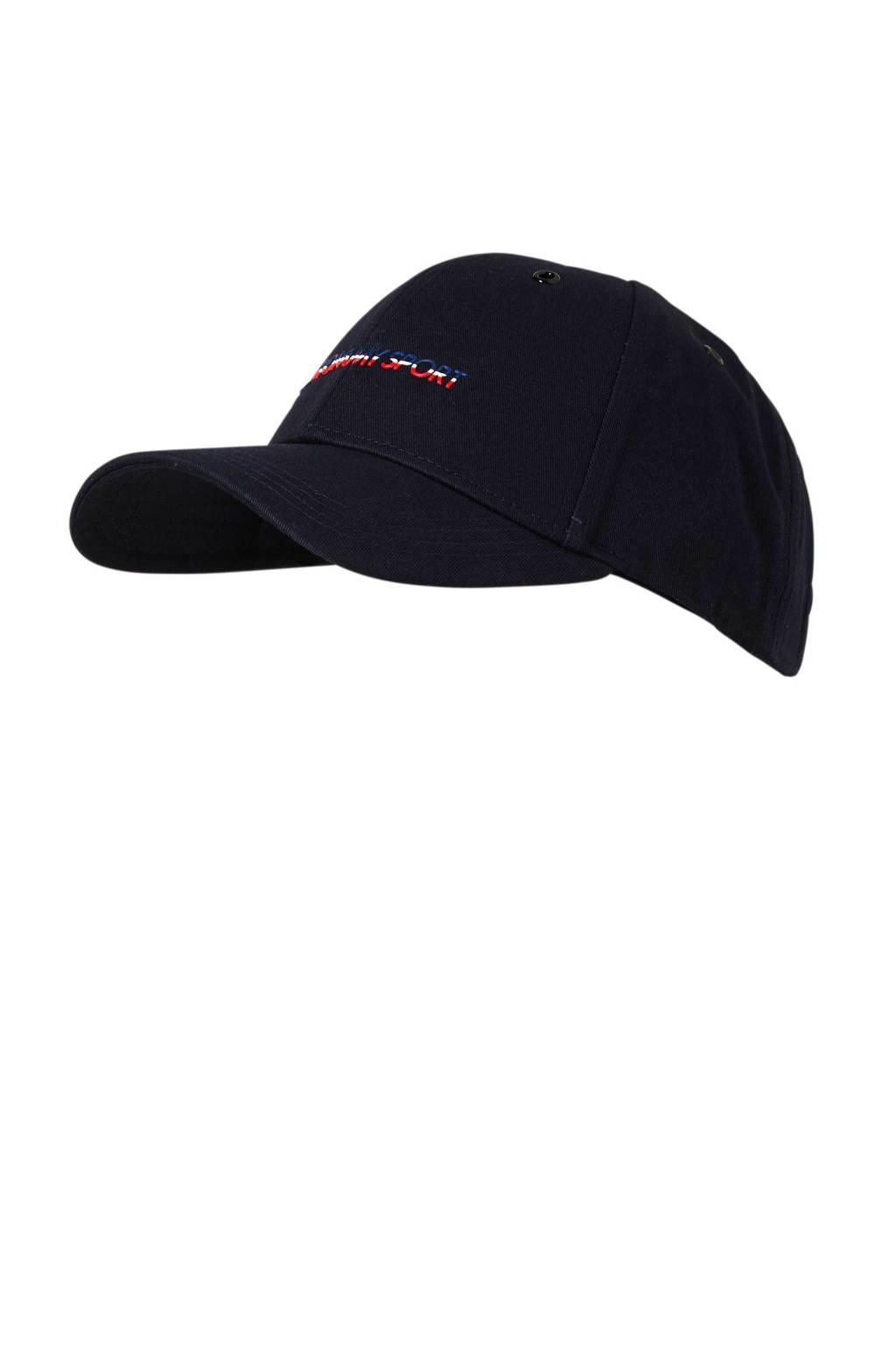 Tommy Hilfiger Sport cap donkerblauw, Donkerblauw