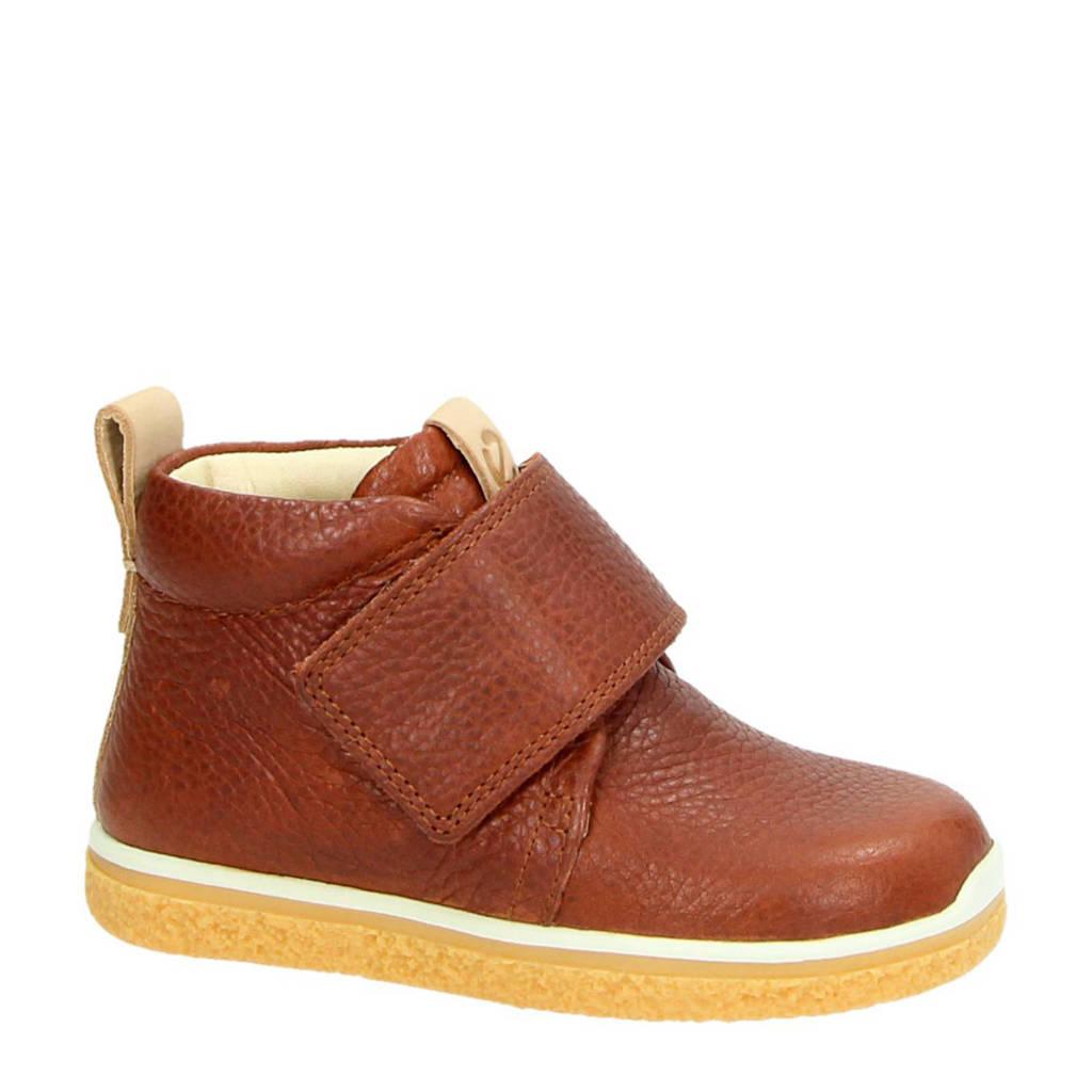 Ecco  Crepetray Mini leren sneakers, Cognac