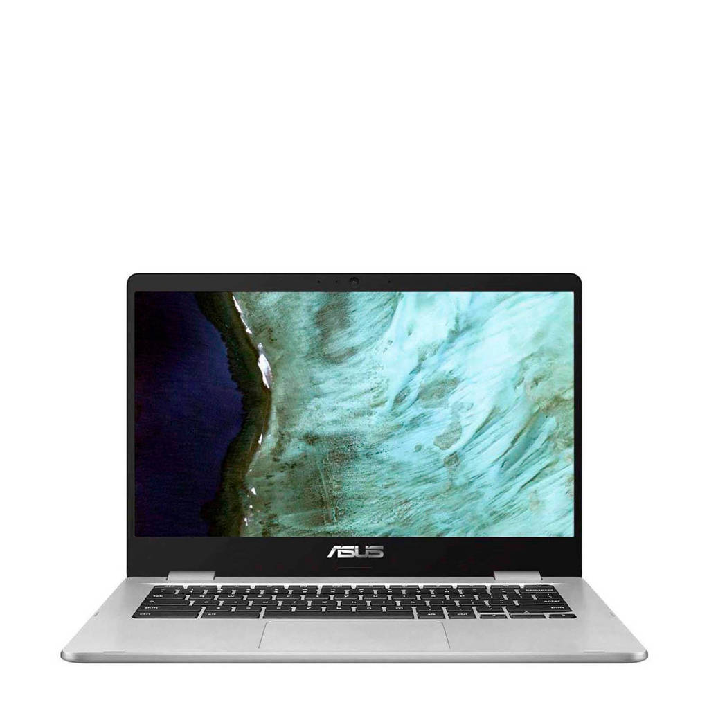 Asus  14 inch Full HD chromebook, Zilver