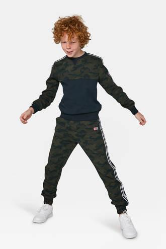 regular fit joggingbroek groen