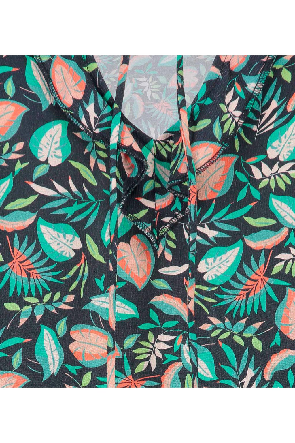 Blauw All Over Met Doris Print Expressotop ZTqPX7B