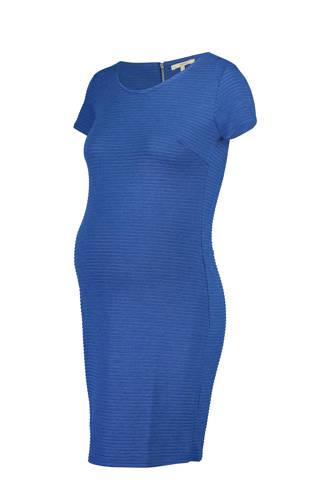 zwangerschapsjurk Zinnia blauw