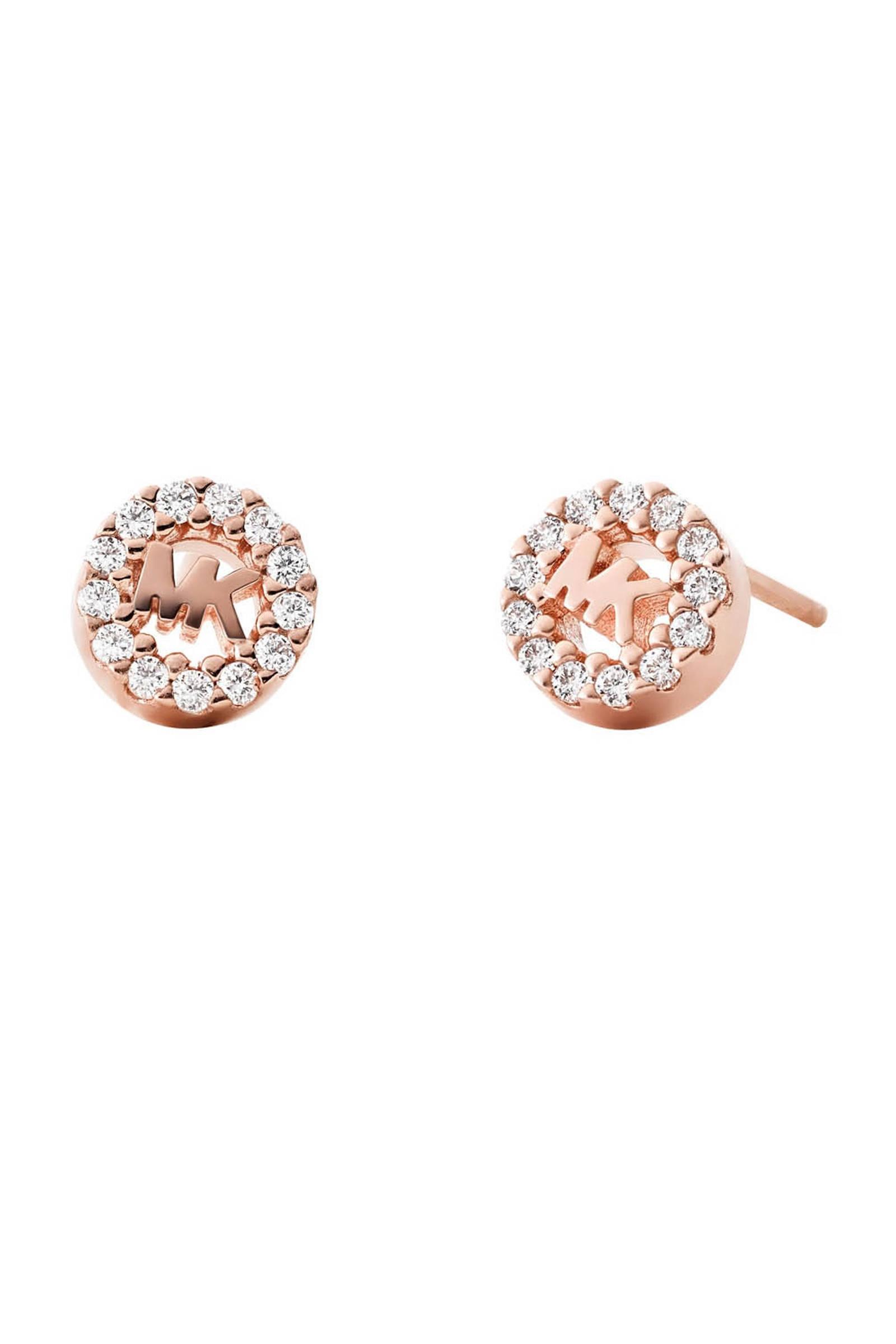 zilveren oorbellen MKC1033AN791 roségoudkleurig
