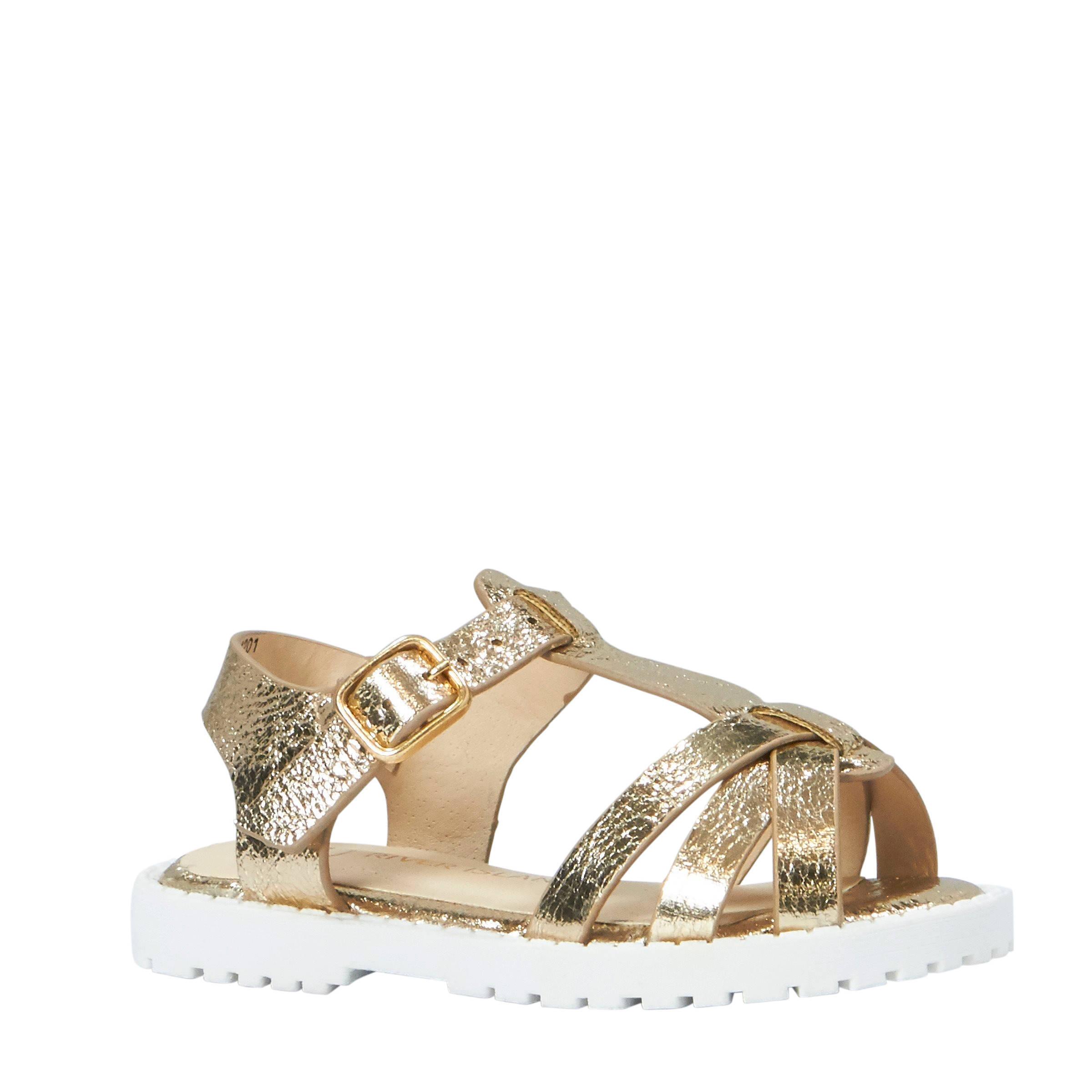 sportschoenen gezellig fris rijgen in sandalen goud
