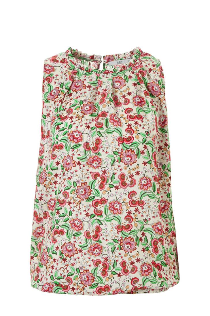 met ESPRIT ecru bloemen Women edc blouse vq11YxaTZ