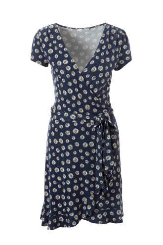 edc Women jurk met bloemenpint en bindceintuur