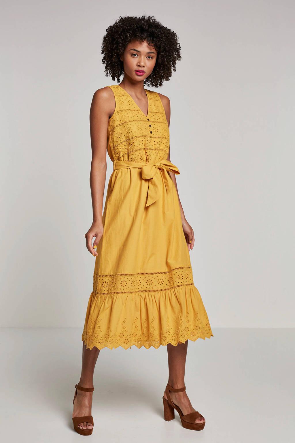ESPRIT Women Casual jurk geel, Geel
