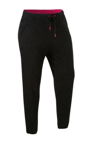 XL Yessica lounge  broek met koord zwart