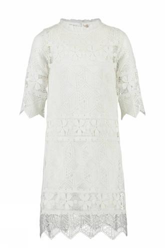kanten jurk Gaelle wit