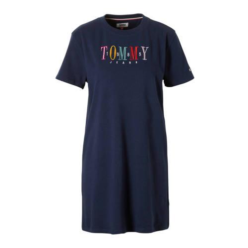 Tommy Jeans jurk blauw kopen