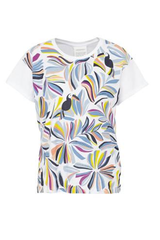 T-shirt met toekan print