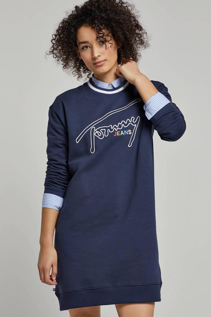 Jeans jurk Tommy jurk geborduurde jurk Jeans geborduurde geborduurde Tommy Tommy Tommy geborduurde jurk Jeans Jeans xzZn6Pw
