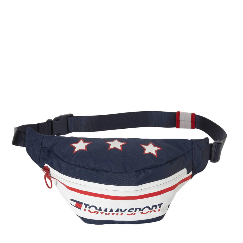Tommy Sport   heuptas met logo, Blauw/rood/wit