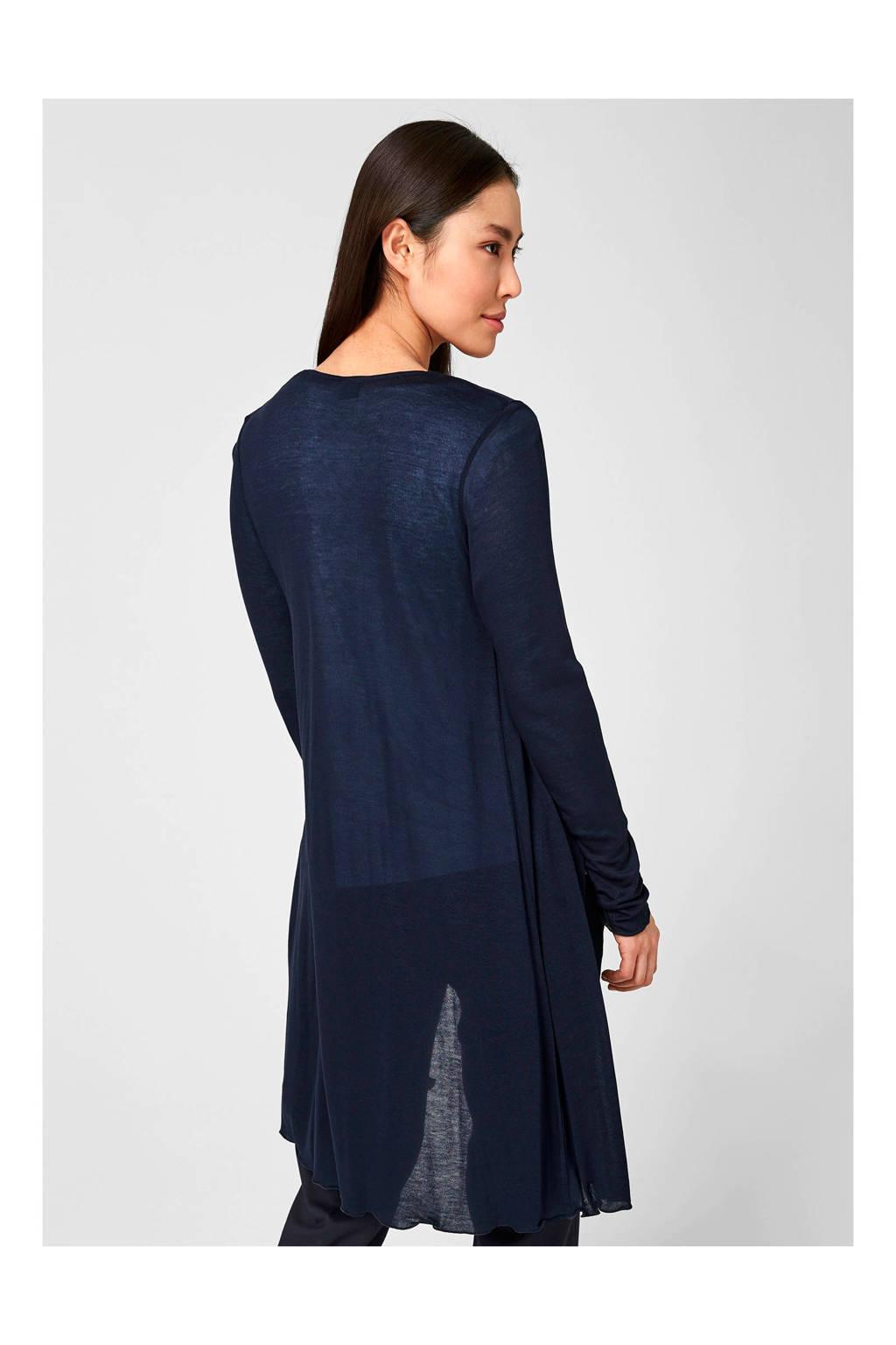 s.Oliver BLACK LABEL vest blauw, Blauw