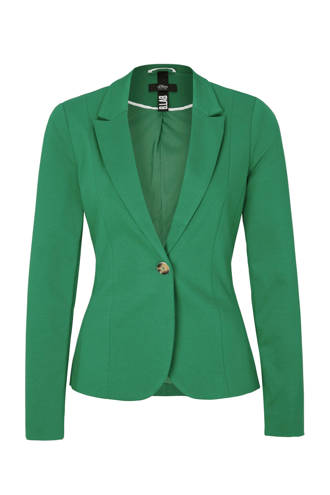 sweatblazer groen