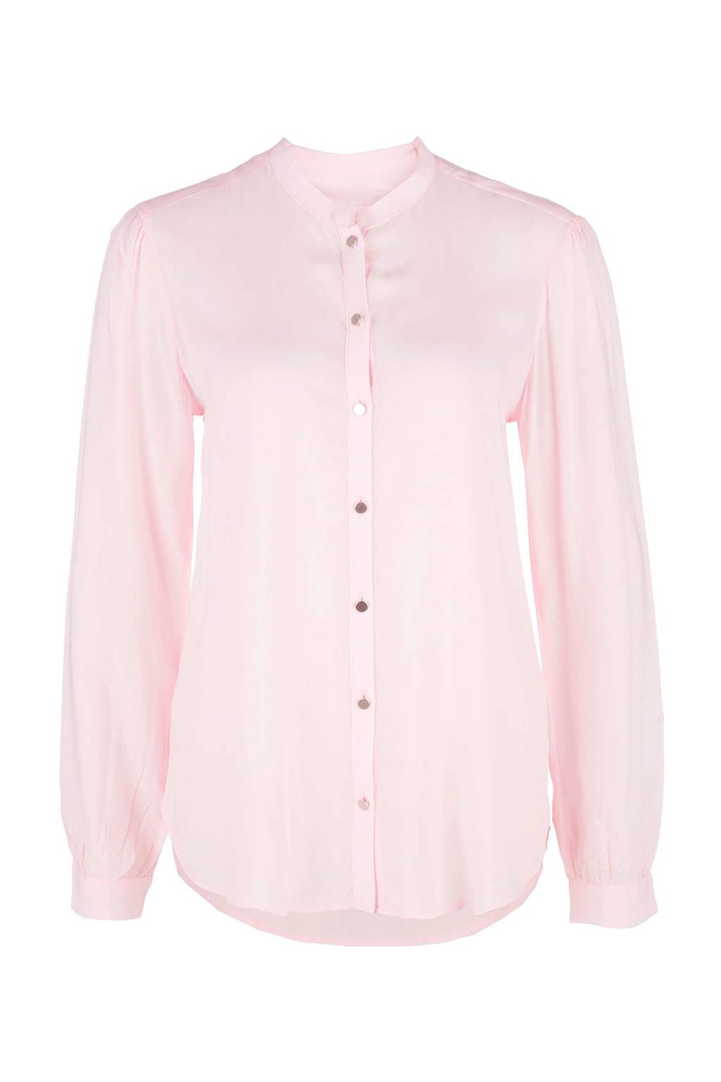 Q/S designed by blouse, Lichtroze