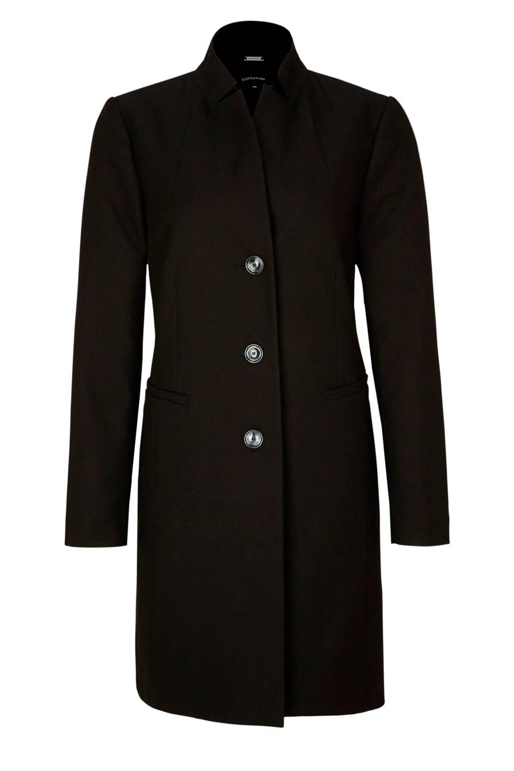 comma jas zwart, Zwart