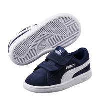 Puma   Smash v2 SD V PS sneakers donkerblauw, Donkerblauw/wit