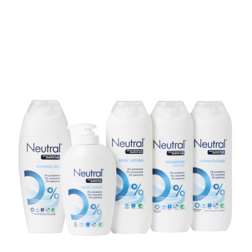Neutral personal care pakket 5-delig - parfumvrij