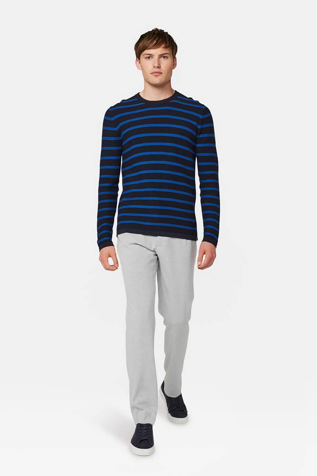 WE Fashion slim fit pantalon grijs, Grijs