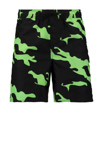 zwemshort all-over print camouflage