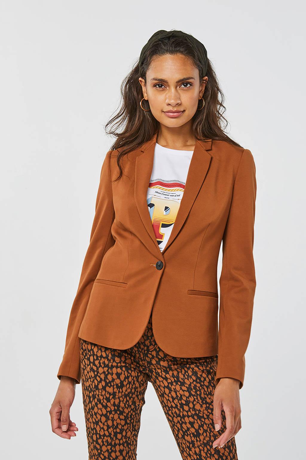 WE Fashion blazer camel, Camel