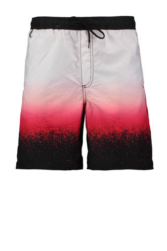 zwemshort all-over print ombre