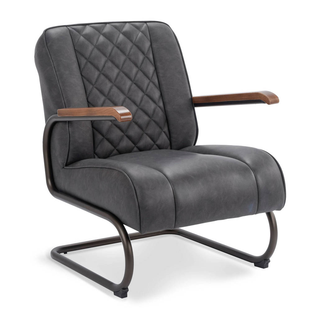 Fauteuil New York, Antraciet