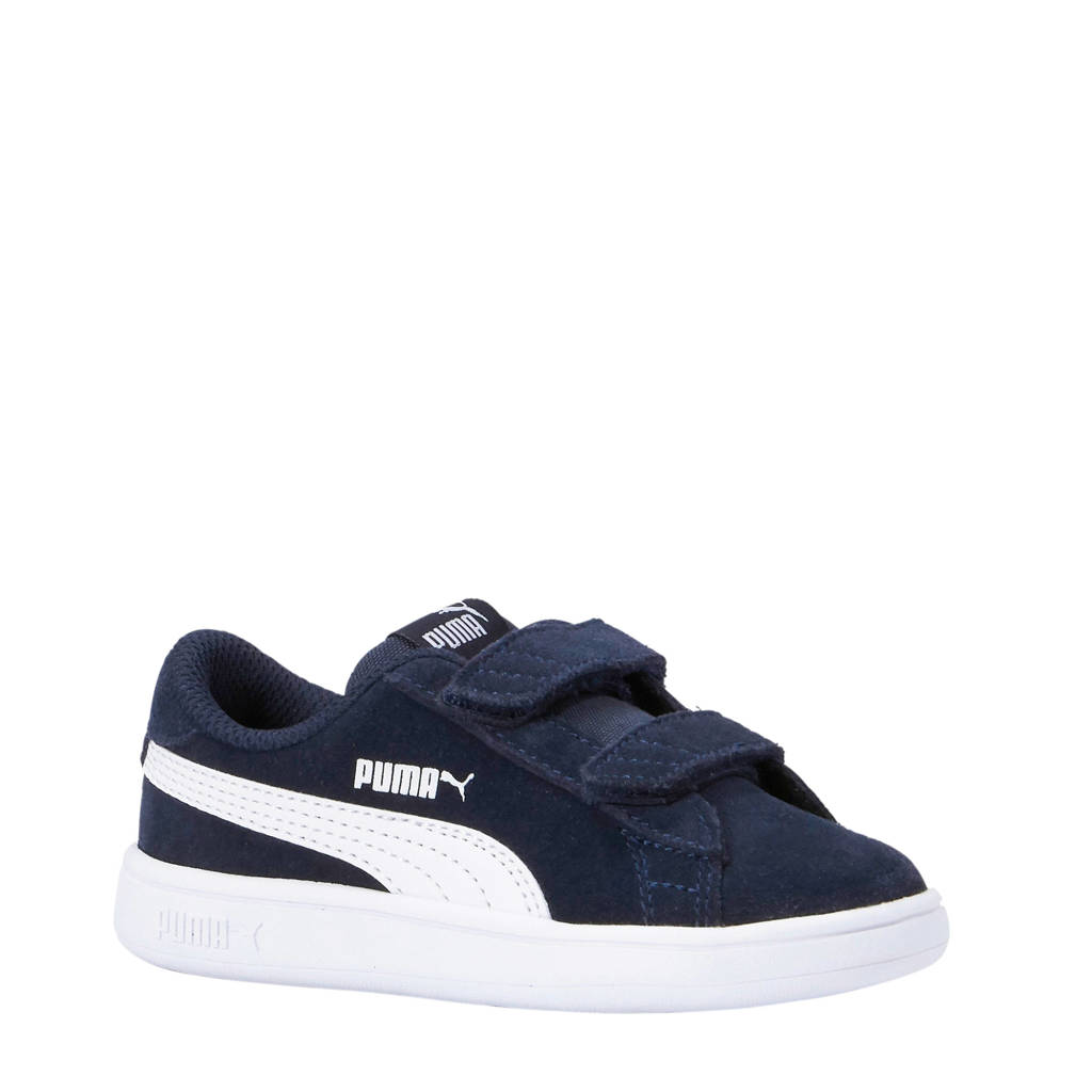 Puma  Smash v2 SD V Inf sneakers donkerblauw, Donkerblauw/wit