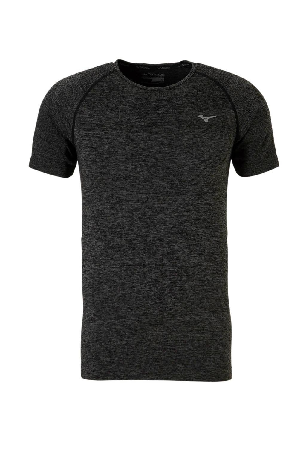 Mizuno   sport T-shirt grijs, Grijs