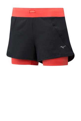sportshort zwart/rood