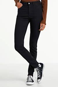 WE Fashion Blue Ridge skinny jeans, Zwart