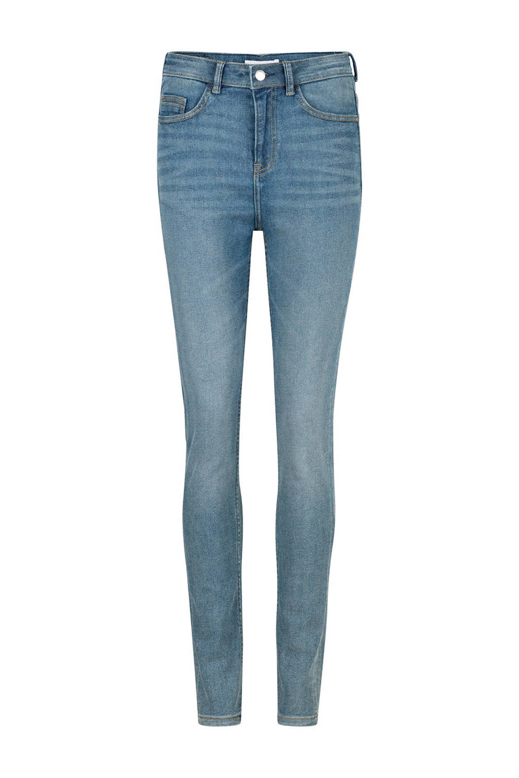 WE Fashion Blue Ridge high waist skinny jeans, Light denim