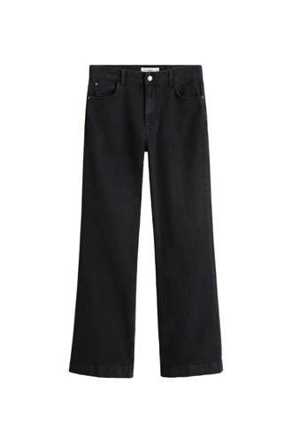 jeans wijd uitlopend