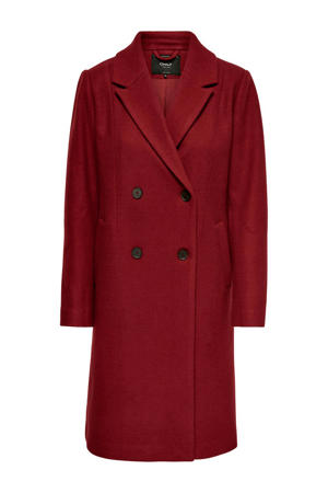 coat donkerrood