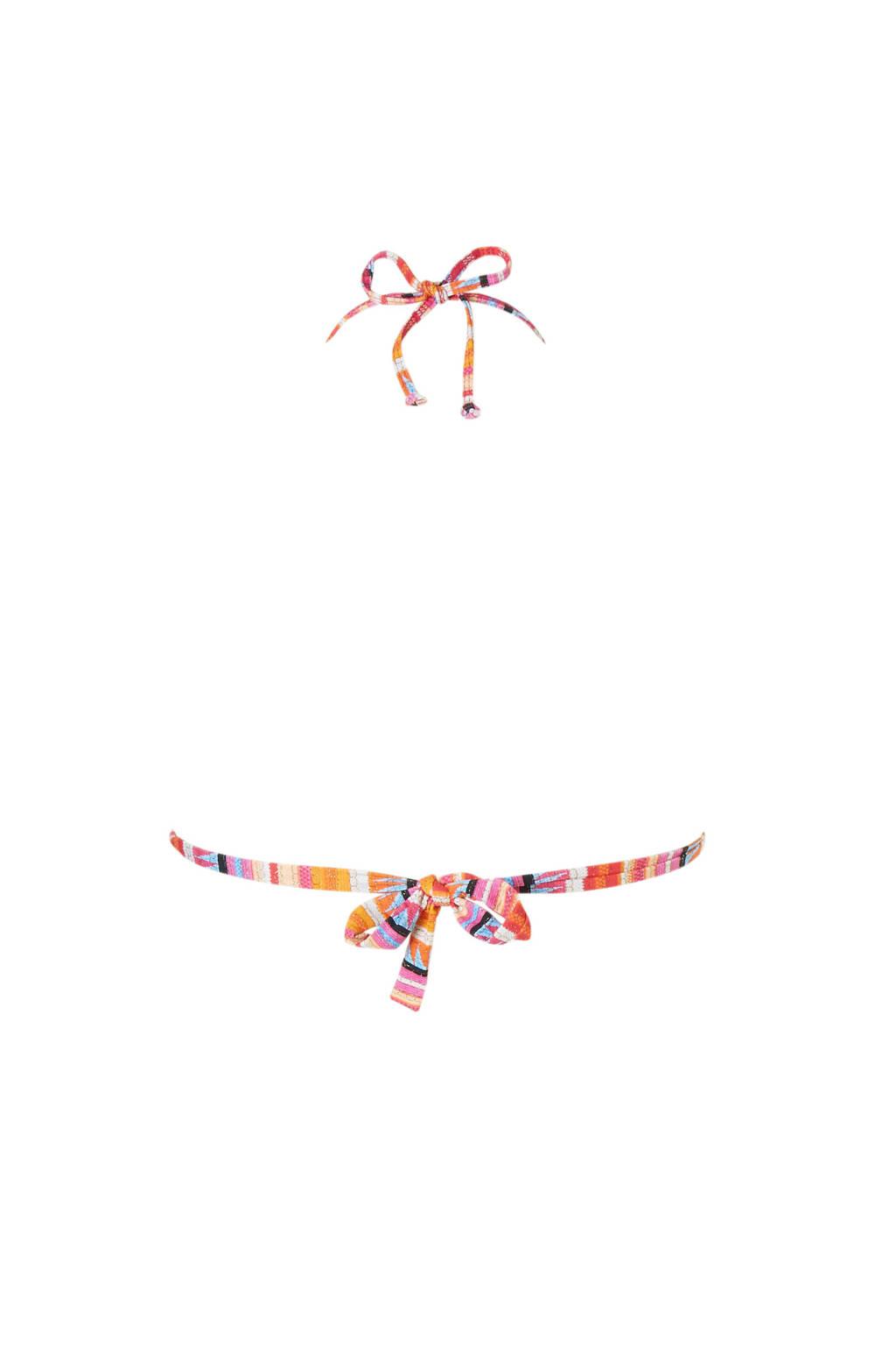 Moontriangel Over Banana Bikinitop Print Oranje In All dv0qP0xI