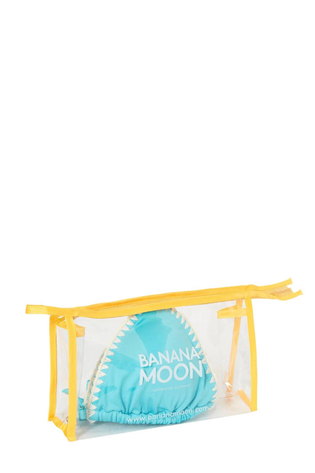 Schelpjes Banana Banana Turquoise Moontriangeltop Met Moontriangeltop w7PnO7qg