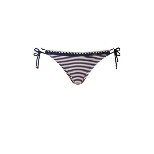 Banana Moon bikinibroekje met all over streepprint zwart kopen