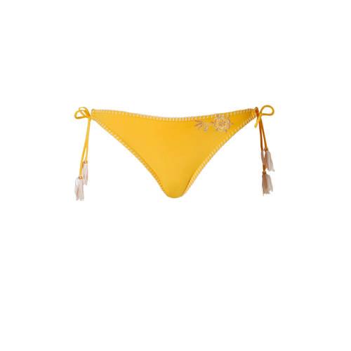 Banana Moon brazilian strik bikinibroekje geel kopen
