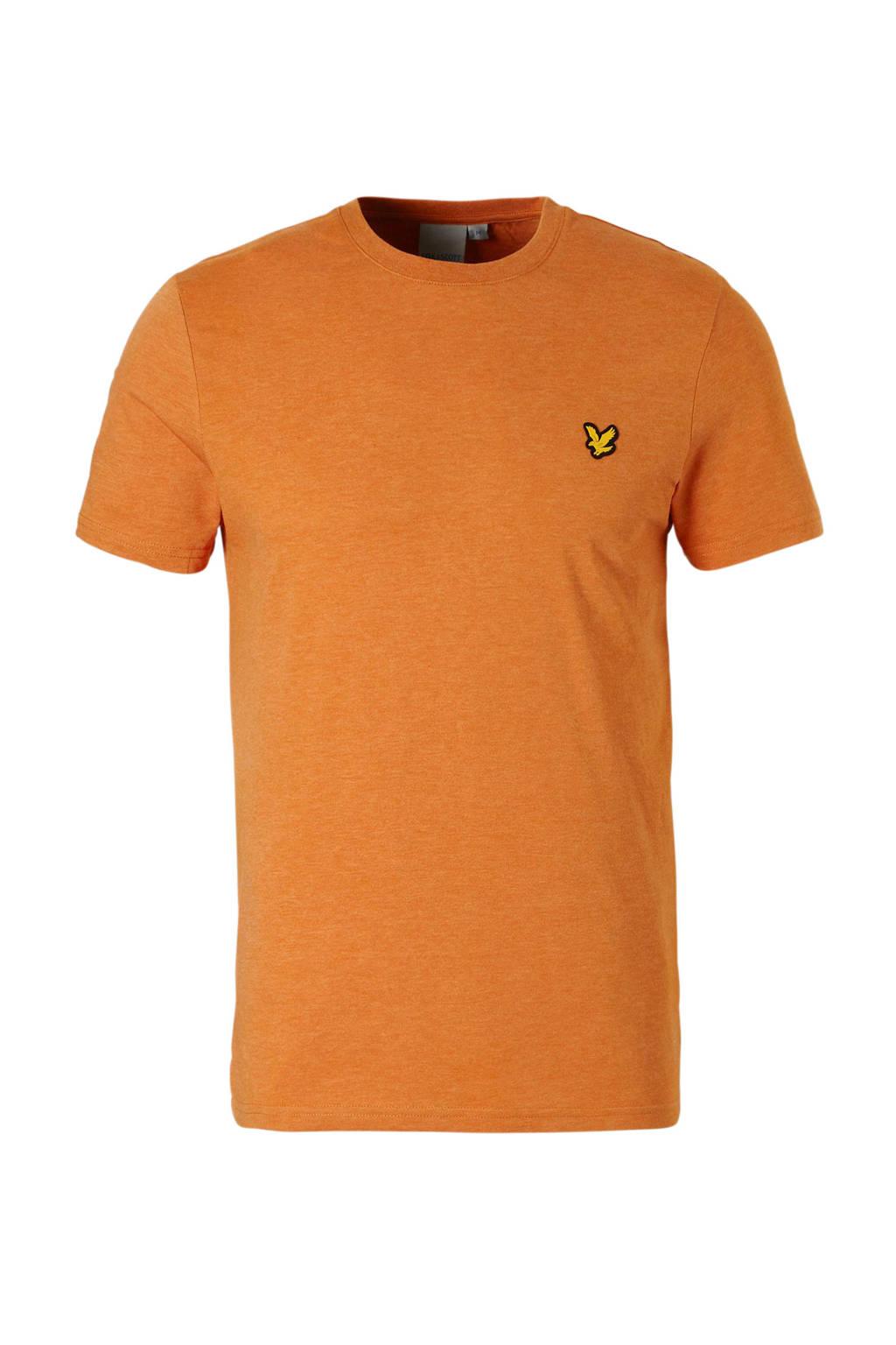 Lyle & Scott   sport T-shirt oranje, Oranje