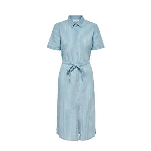 JACQUELINE DE YONG blousejurk blauw