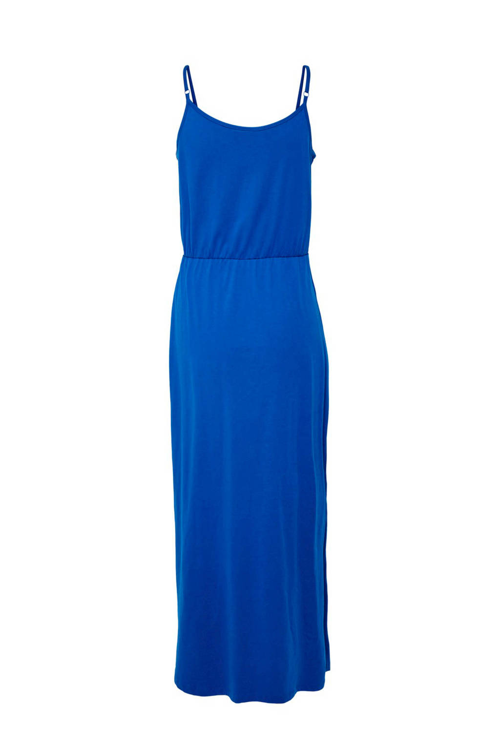 bbc481426efe54 JACQUELINE DE YONG mouwloze maxi jurk blauw