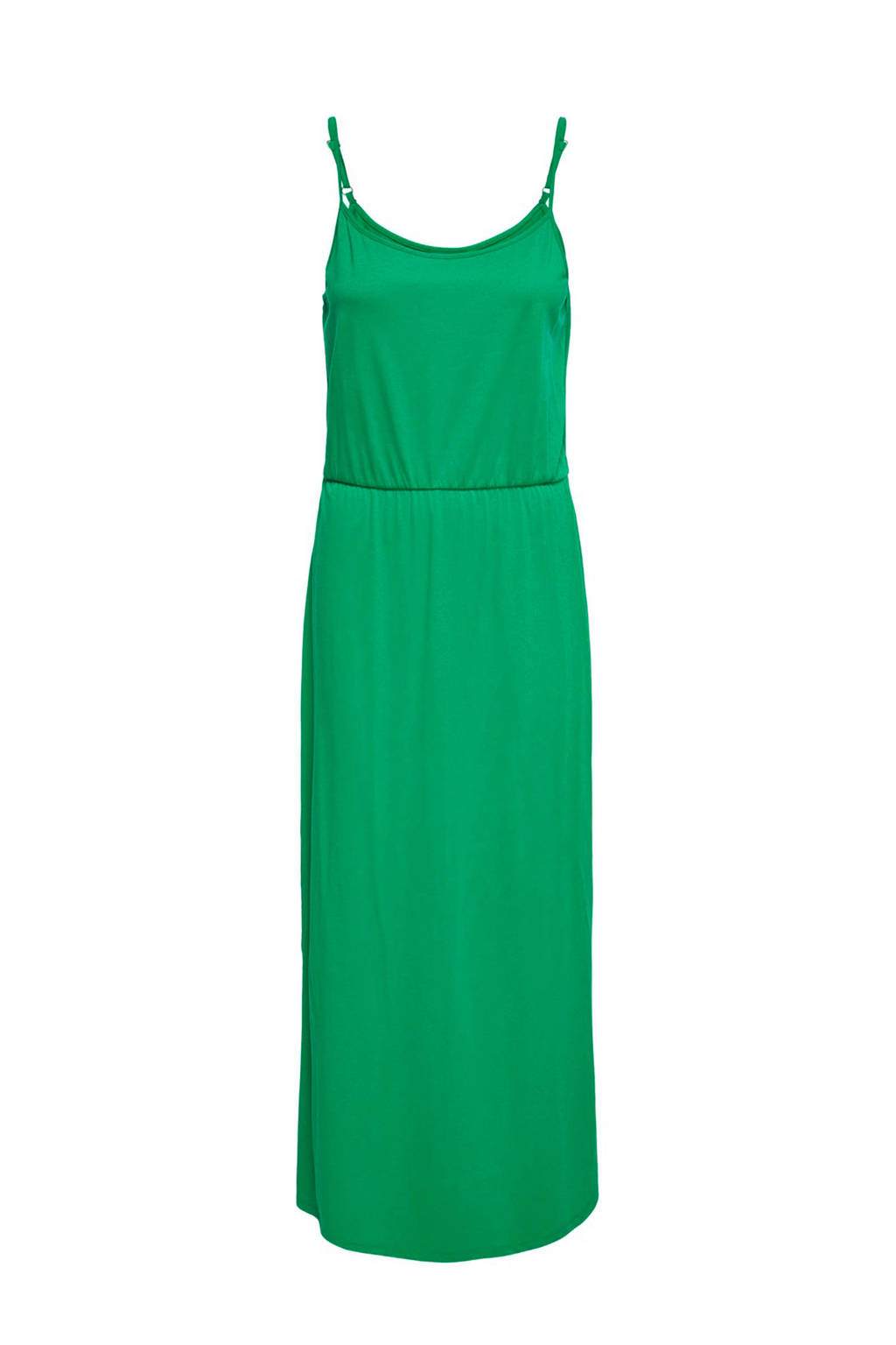 JACQUELINE DE YONG mouwloze maxi jurk groen, Groen
