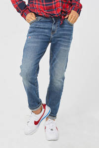 WE Fashion Blue Ridge straight fit jeans Josee Gigi dirty denim, Dirty denim