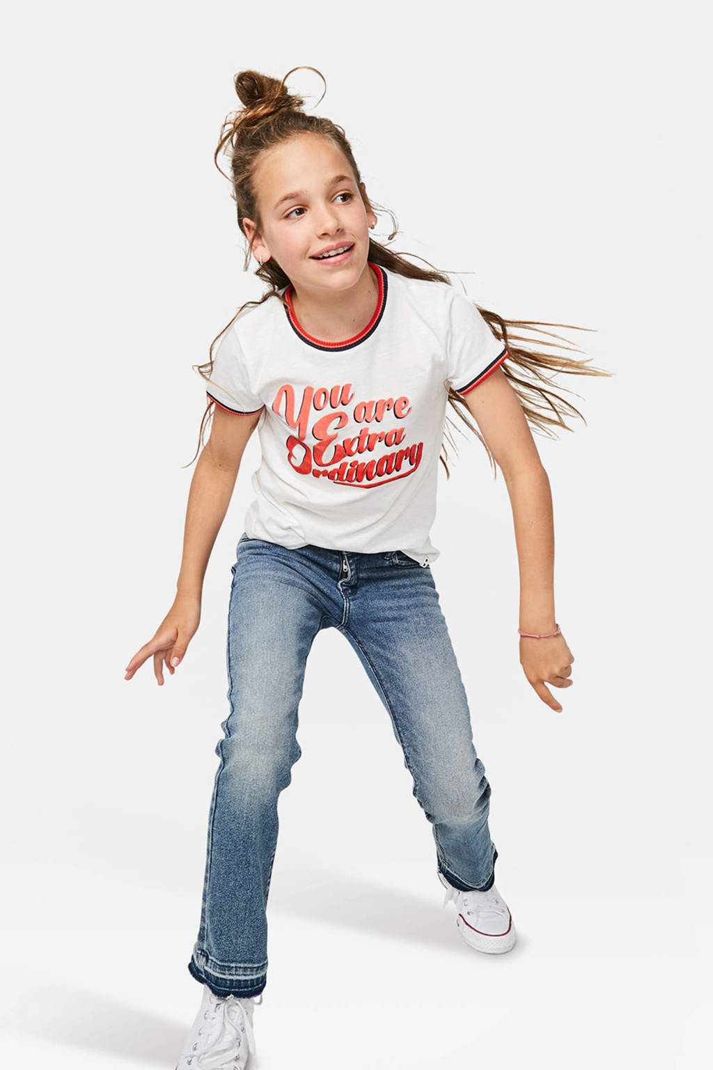 WE Fashion Blue Ridge flared jeans Farah Jade, Stonewashed