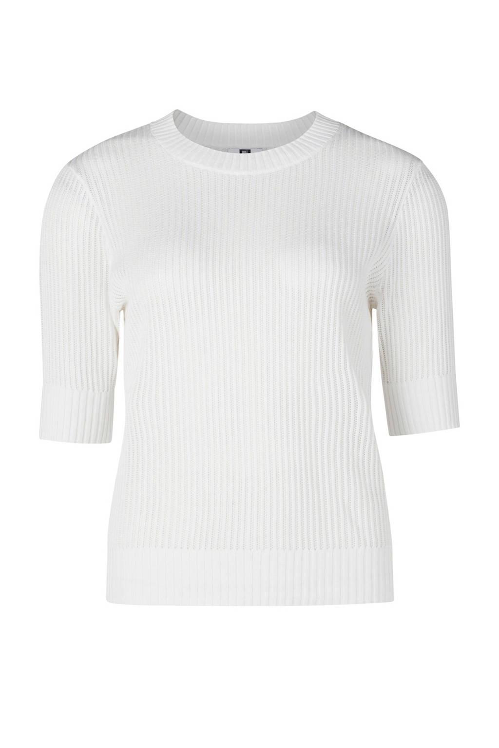 WE Fashion trui gebroken wit, Gebroken wit